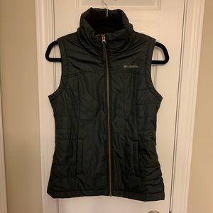 Black Columbia vest